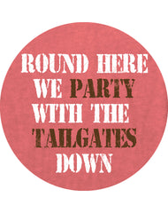 Farm Girl Party With Tailgate Down Tee