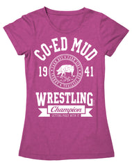 Farm Girl Mud Wrestling Tee