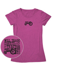 Farm Girl Will Trade Husband Tee
