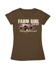 Farm Girl Spa Day Tee
