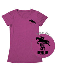 Farm Girl Get Over It Tee