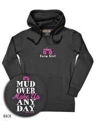 Farm Girl Mud Over Makeup Fleece Hoodie