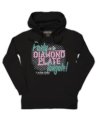 Farm Girl Diamond Plate Tailgate Fleece Hoodie