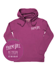 Farm Girl Moonshine Fleece Hoodie
