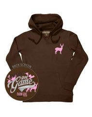 Farm Girl This Girl's Got Game Fleece Hoodie
