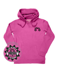 Farm Girl Love The Smell Fleece Hoodie