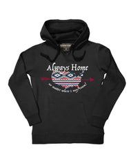 Farm Girl Always Home Fleece Hoodie