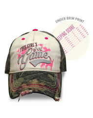 Farm Girl Girl's Got Game Hat
