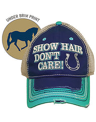 Farm Girl Show Hair Mesh Cap