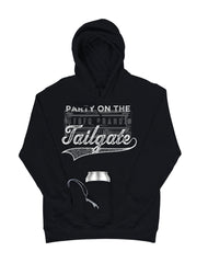 Farm Girl Party On The Tailgate Fleece Huzu Hoodie