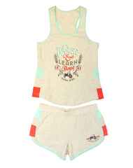Farm Girl Ladies Retro Short Set