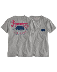 Farm Girl American Heritage Boyfriend Pocket Tee
