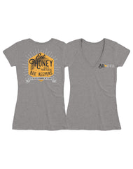 Farm Girl Honey V-Neck Tee