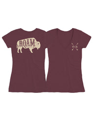Farm Girl Roam V-Neck Tee