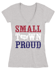 Farm Girl Small Town Proud Short Sleeve Tee