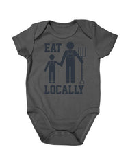 Newborn Farm Boy Eat Locally Creeper