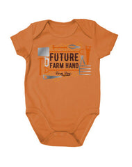 Newborn Farm Boy Future Farm Hand Creeper