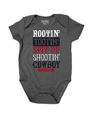 Newborn Farm Boy Rootin' Tootin' Creeper