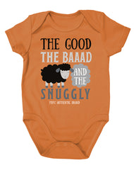 Newborn Farm Boy Good, Bad, Snuggly Bodysuit