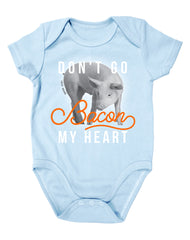 Newborn Farm Boy Bacon My Heart Bodysuit