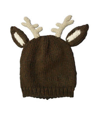 Farm Boy Youth Reindeer Knit Hat