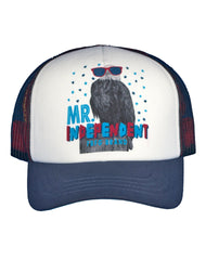 Newborn/Boys Farm Boy Mr. Independent Trucker Cap