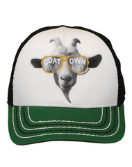 Newborn Infant/Boys Farm Boy Goat Mesh Cap