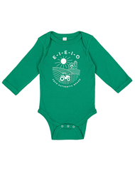 Newborn/Infant Farm Boy E-I-E-I-O Creeper