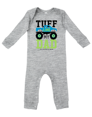 Newborn/Infant Farm Boy Tuff Like Dad Romper