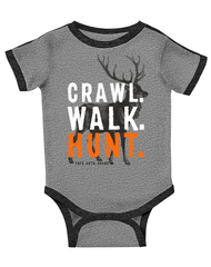 Newborn/Infant Farm Boy Crawl Walk Hunt Creeper