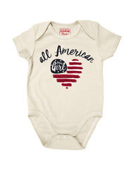 Newborn Farm Girl All American FG Creeper