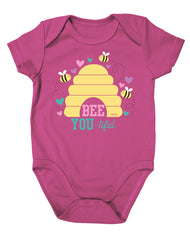 Newborn Farm Girl Bee-You-Tiful Bodysuit
