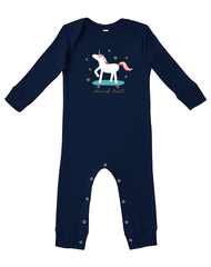 Newborn/Infant Farm Girl Stand Tall LS Romper