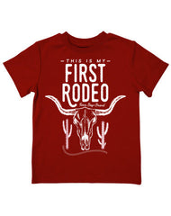 Infant/Toddler Farm Boy First Rodeo Tee