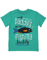Infant/Toddler Farm Boy Daddy's Fishing Buddy Tee