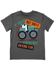 Infant/Toddler Farm Boy Dirty Fun Tee