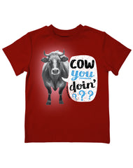 Infant/Toddler Farm Boy Cow you Doin' Tee