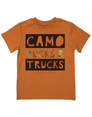 Infant/Toddler Farm Boy Camo Bucks & Trucks Tee