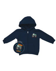 Infant/Toddler Farm Boy Dirty Fun Zip Hoodie