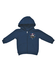 Infant/Toddler Farm Boy Mr. Independent Zip Hoodie