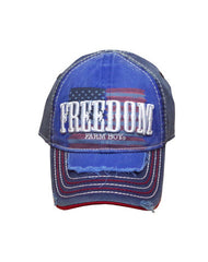 Infant/Toddler/Boys Farm Boy Freedom Flag Cap