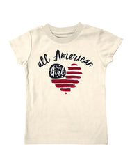 Infant/Toddler Farm Girl All American Tee