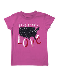 Infant/Toddler Farm Girl Land That I Love Tee