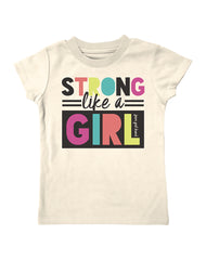Infant/Toddler Farm Girl Strong Like A Girl Tee