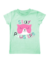 Infant/Toddler Farm Girl Stay Pawsitive Tee