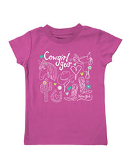 Infant/Toddler Farm Girl Cowgirl Gear Tee