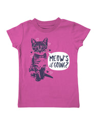 Infant/Toddler Farm Girl Meow's It Going Tee