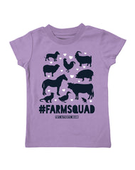 Infant/Toddler Farm Girl Farmsquad Tee