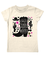 Infant Farm Girl Princess Boots Tee