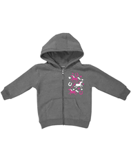 Toddler Farm Girl Wild Heart Hoodie